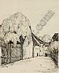 Max Schwimmer, Straße in Leipzig (Eutritzsch?). 1913., Max Schwimmer, Click for value