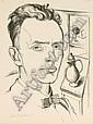 Max Burchartz, Selbstbildnis. 1920., Max Burchartz, Click for value
