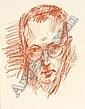 Rüdiger Berlit, Selbstbildnis. Wohl 1935.