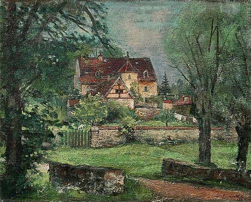 Paul Wilhelm, Radebeul - Forsthaus Kreyern. Um 1940/ 1943.
