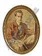 Unbekannter Künstler, Mann mit Pfeife. Um 1930/ 1940.