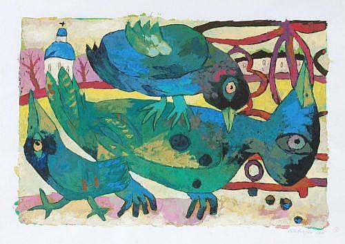 Gennady Karabinskiy, Drei Vögel. 2005.
