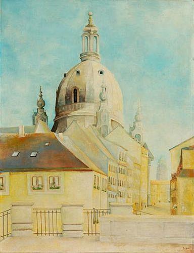 Monogrammist M.H.H., Dresden - Frauenkirche. 1969.