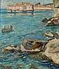 Alfred Teichmann, Blick auf die Küste bei Ragusa. No date.