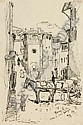 "Richard Paul Burkhardt-Untermhaus""Florenz""/ ""Padua"". 1914."