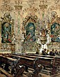 Fritz Beckert, Rokokokirche zu Armorbach. 1933., Fritz Beckert, Click for value