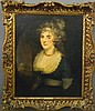 Early 19th c British portrait, Maria Cosway, Click for value