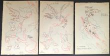 Eisenstein, Sergei. (1898–1948): Erotic Drawing Collection