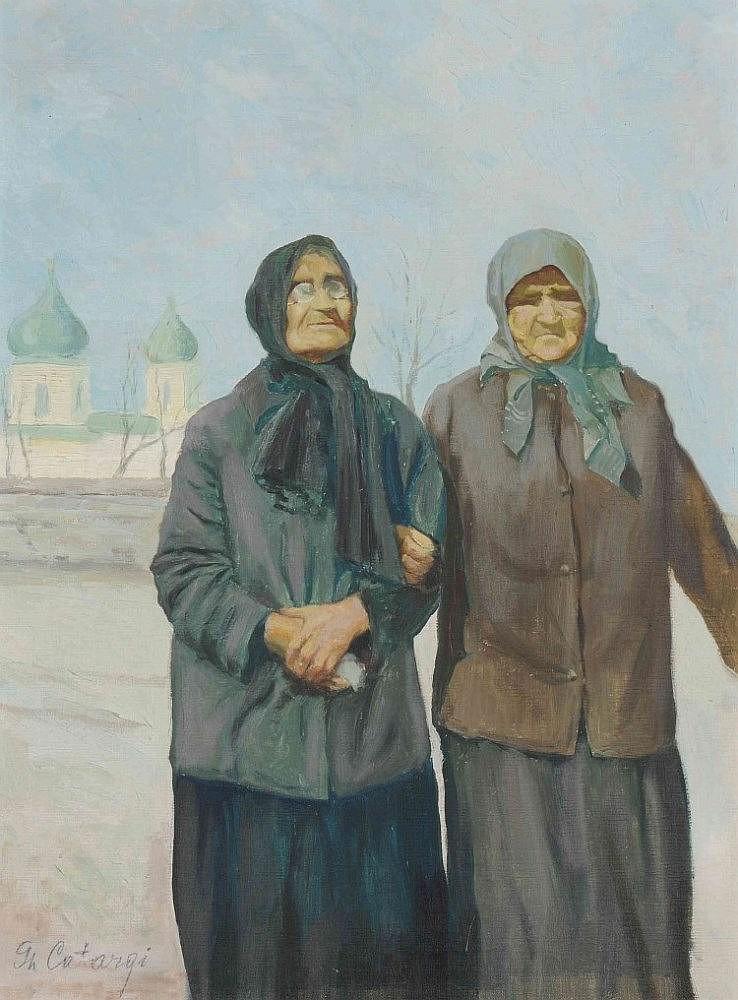 Catargi, George (Rumänien 1894-1963) Zwei