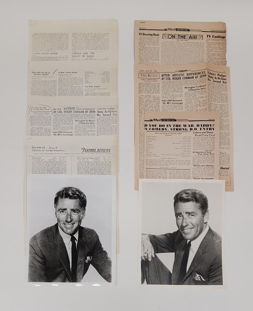 Peter Lawford Documents, with TLS of Daryl Zanuck