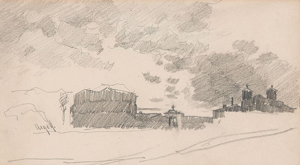 MODESTO URGELL - View of a city