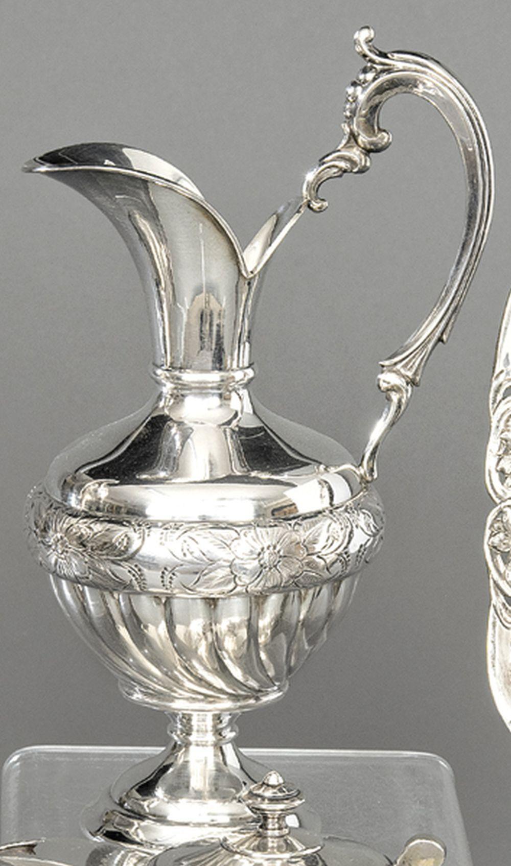 Spanish sterling silver pitcher, Pasgorcy's 925 st…