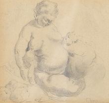 NÉSTOR - Sketch that reinterprets Rubens's La Bacchanal. 1615