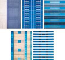 ROLAND FISCHER - Untitled #1, #2, #3, #4 and #5