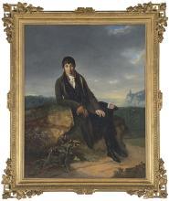ADÈLE ROMANY - Knight portrait