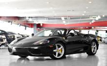 2005 Black Ferrari 360 Modena Spider F1 Convertible
