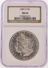 1882-O NGC  MS64 Morgan Silver Dollar