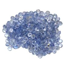 15.6 ctw Round Mixed Tanzanite Parcel