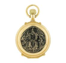 Antique Illinois Watch Co. Pocket Watch - 14KT Yellow Gold
