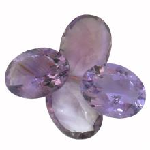 32.41 ctw Oval Mixed Amethyst Parcel