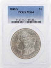 1882-S PCGS MS64 Morgan Silver Dollar