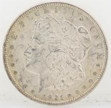 1921 Morgan Silver Dollar