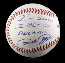 Autographed Pete Rose
