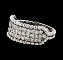 0.54 ctw Diamond Ring - 14KT White Gold