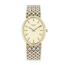 Patek Philippe 18KT White Gold Ellipse Men's Watch