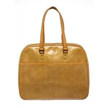 Louis Vuitton Yellow Vernis Leather Monogram Sutton Shoulder Bag