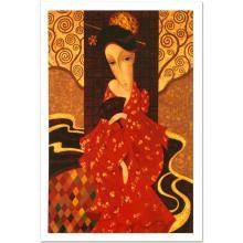 Geisha In Red by Smirnov (1953-2006)