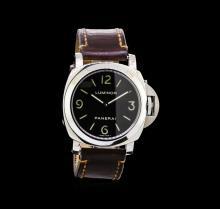 Panerai Stainless Steel Luminor Base Watch