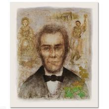 Abraham Lincoln by Hibel (1917-2014)