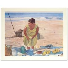Mexican Fruit Vendor by Nelson, William