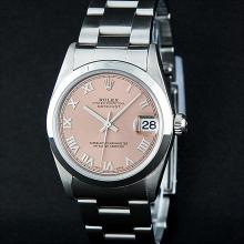 Rolex Stainless Steel Midsize DateJust Watch