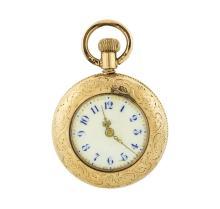 Vintage Elgin Pocket Watch - 10KT Yellow Gold