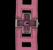 Roger Dubuis 18KT White Gold 1.08 ctw Diamond Ladies Watch