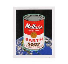 Mother's Condensed Earth Soup After Warhol by Bragg