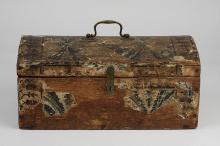 Antique Wallpaper Box Circa 1800s