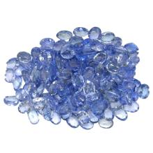23.33 ctw Oval Mixed Tanzanite Parcel
