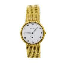 Patek Philippe 18KT Yellow Gold Calatrava Men's Watch