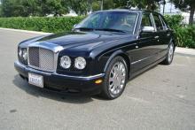 2005 Black Bentley Arnage R