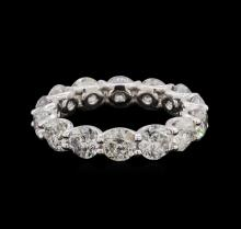 4.15 ctw Diamond Ring - 14KT White Gold