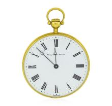 Vintage Chopard Pocket Watch - 18KT Yellow Gold
