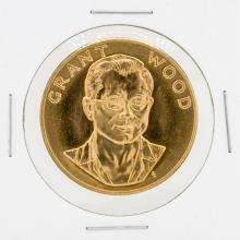 1980 1oz Grant Wood US Commemorative Gold Coin