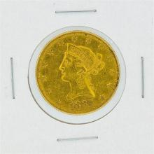 1887-S $10 XF Liberty Head Eagle Gold Coin