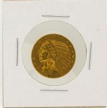 1916-S $5 XF Indian Head Half Eagle Gold Coin