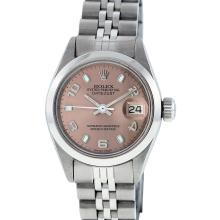 Rolex Stainless Steel DateJust Ladies Watch