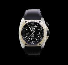Bell & Ross Stainless Steel BR02 Rubber Marine Watch