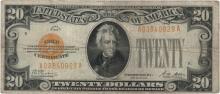 1928 $20 Fine Legal Tender Bank Note